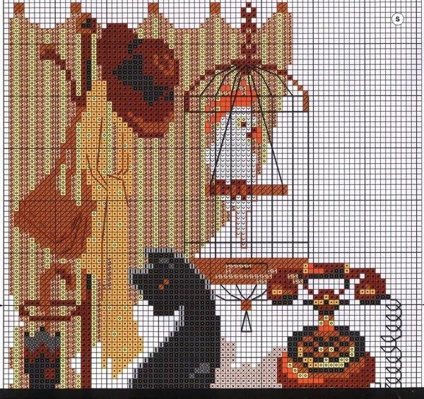 Кошки схемы вышивка ...продолжение тут.  Leyla.  30.07.2012. Дата.  Добавил.  Вышивка схемы.