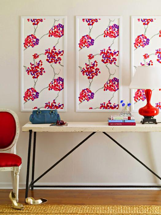 а можно использовать в качестве панно и картин на стене.