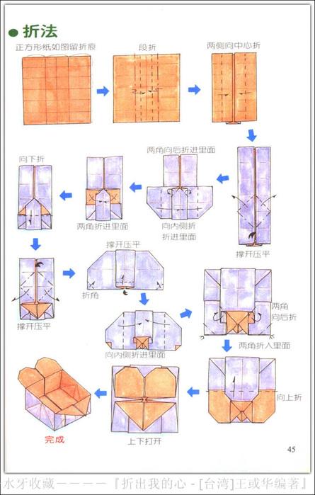 Как сделать из бумаг коробочку сердечко