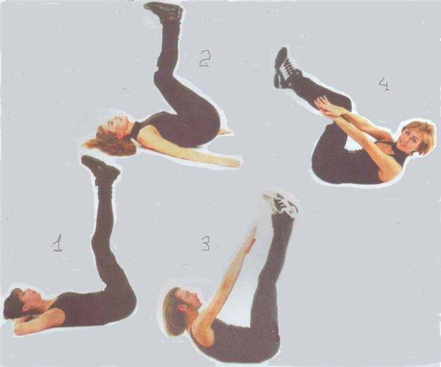 Упражнения дома для похудения, комплекс простых и