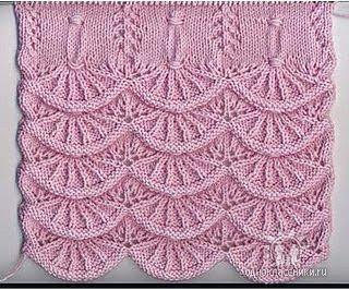 Схема вязания Узоры вязания спицами.  Внимательно смотрите на.