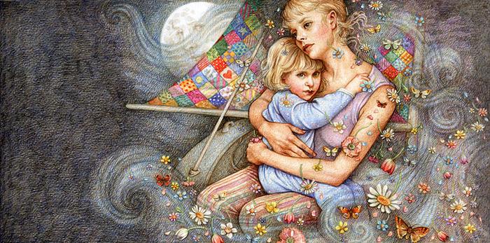 Каждая мама может помочь своему ребенку словами.  Фразы, которые предлагается в материале статьи надо произносить...