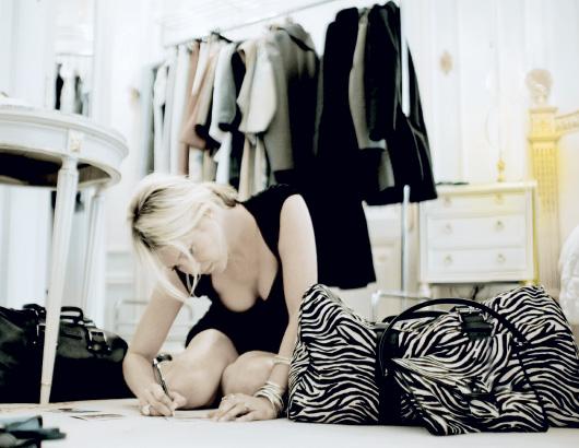 Кейт Мосс создала коллекцию для Longchamp.