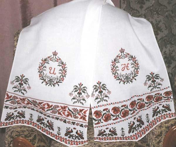 вышитое - свадебный рушник