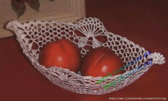 Схемы Вязания Вазочек Крючком
