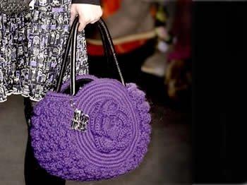 Модные вязаные летние сумки KnityruШирина.  584 pxВысота.