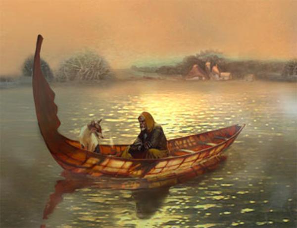 харона лодка