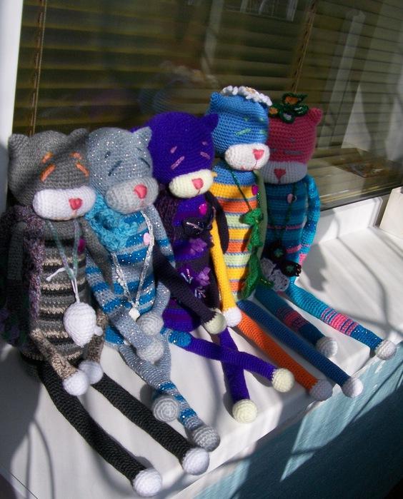 Кот амигуруми схема вязания