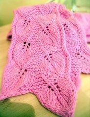 Вяжем шарфики руками не - b096