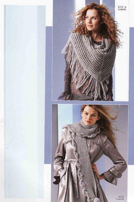 вязаный спицами мужской шарф схема описание.  Нам нужны шарфы, модные.