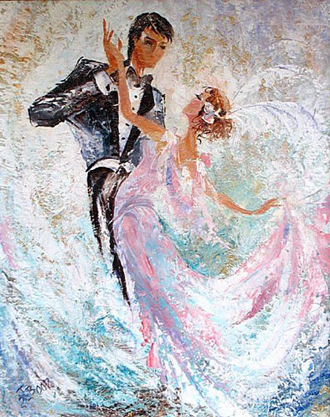 Последним танцем в этот вечер Объявлен вальс, ты слышишь, вальс.  Но я хочу, чтоб длилась вечно Его божественная...