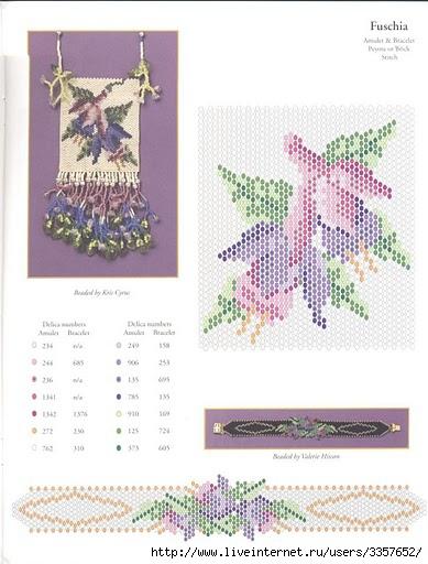 двойное мозаичное плетение бисером видео - Лучшие схемы и описания для всех.