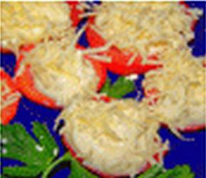 """...Еврейская кухня). x 2975768926 Закуска  """"Хризантемы """" (Еврейская кухня)"""