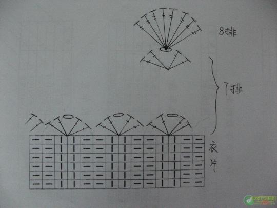 Болеро из прямоугольника спицами и крючком.