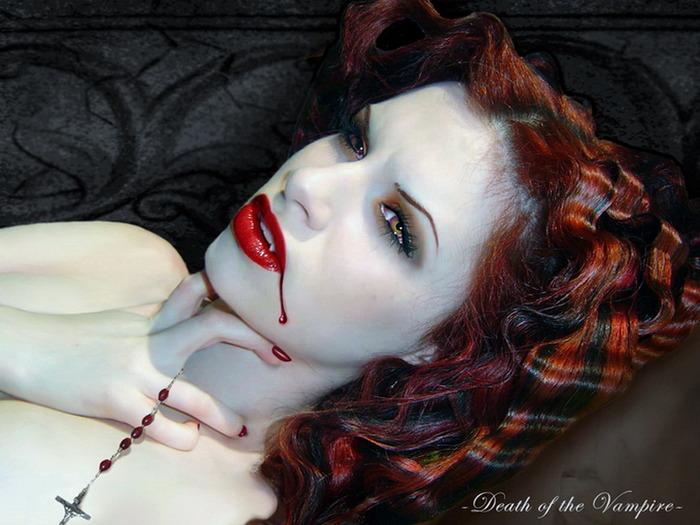 Фото голых красивых брюнеток вампирш 22 фотография
