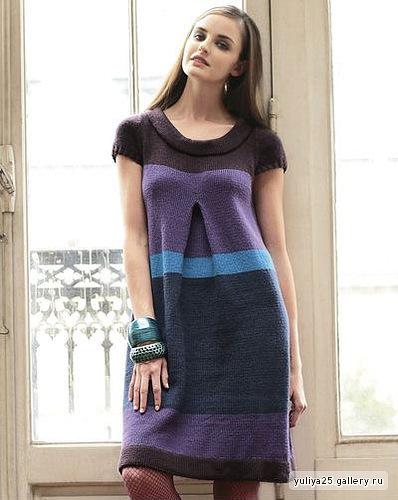 Вязание для беременных спицами платья для 53