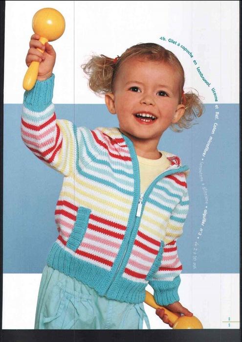 связать кофту спицами на девочку трех лет. вяжем кофту для девочки.