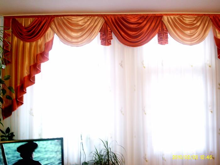 Как самому сшить шторы в зал 100