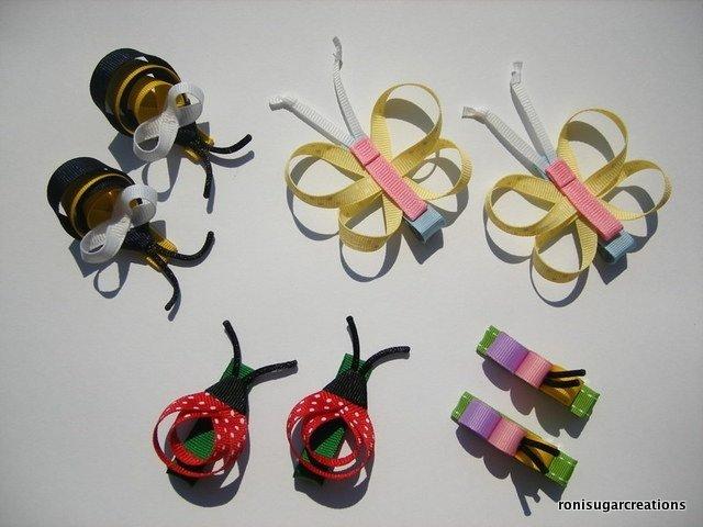 Бантики из репсовых лент своими руками для начинающих
