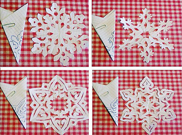 Как сделать из бумаги снежинки своими руками