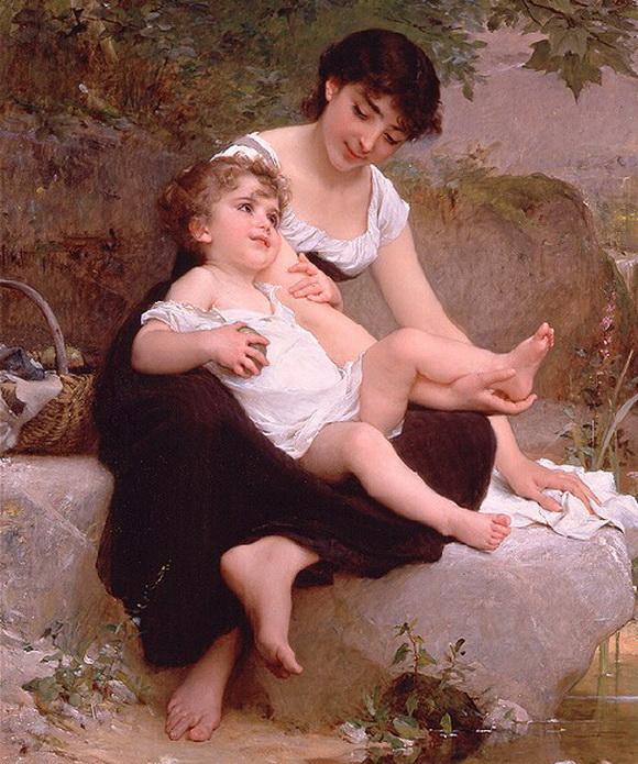 1892. Эмиль Мунье - французский художник, родился 2 июня 1840 г. в Париже.
