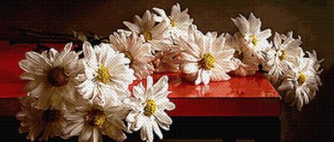 """8 готовых комплектов. """" рассылки  """"Авторские схемы вышивки крестом на Вышивай.ру """" от 22 августа 2008 года."""