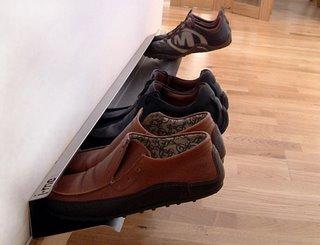 Идеи для подставки обуви.