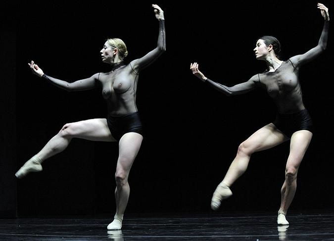 Японский голый балет онлайн это