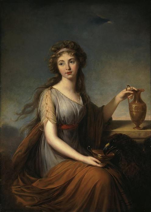 Фотоколлаж женский портрет