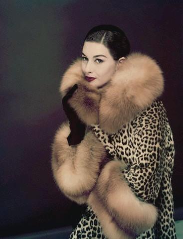 Ретро мода - Зимний наряд 50-х.