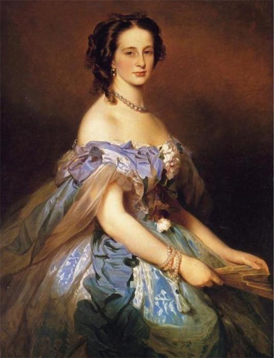 Александра Иосифовна, великая княгиня России, принцесса Александра Альтенбург (511x687, 68Kb) .