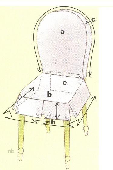 Сшить свадебный чехол на стул 152