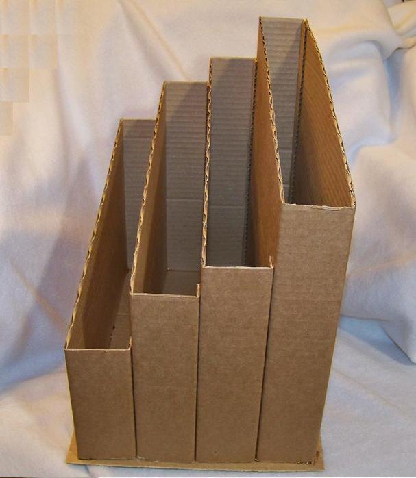 Как сделать коробку для бумаг своими руками