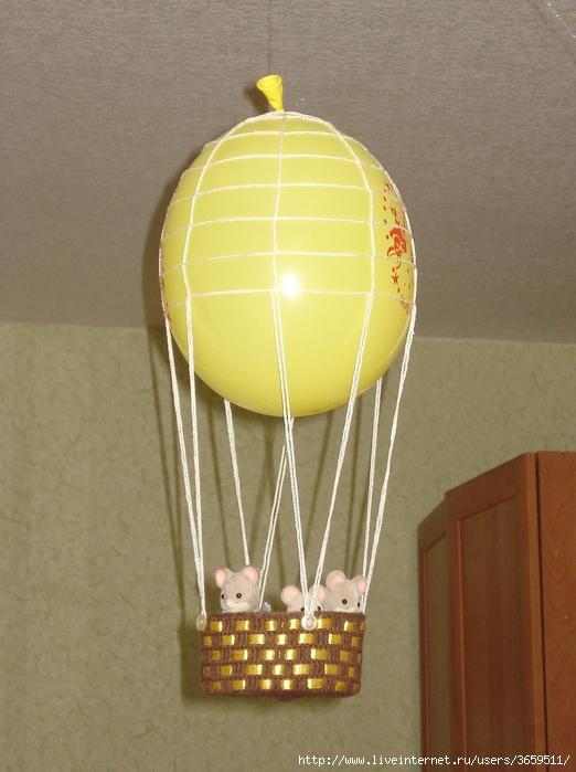 Летающий шарик своими руками 63