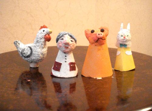 Кукольный театр руками дошколят Технология изготовления игрушек на основе куриного яйца
