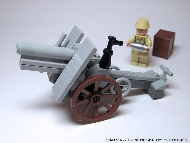 Как сделать пушку из лего для робота - Rusakov.ru
