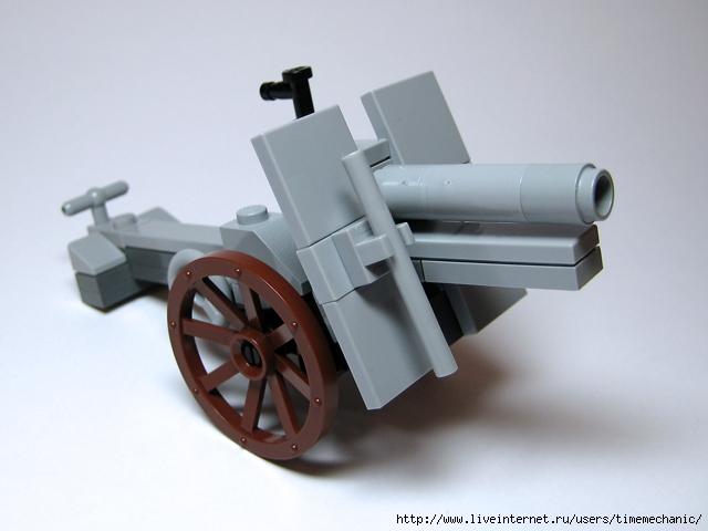 Как сделать пушку 2 мировой из лего - Ремонт авто сервис