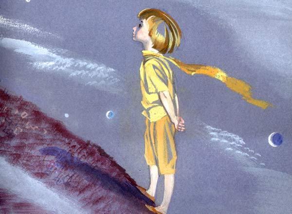 Маленький принц художницы Ники Гольц.
