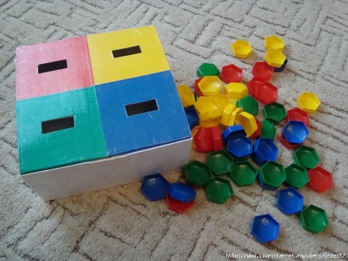 Развивающие игрушки для детей 15 лет своими руками