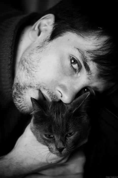 "Плейкаст ""Кошка и Мужчина."