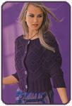 Описание: связать кофту спицами. вязание модных кофточек.  Автор: Эвелина.