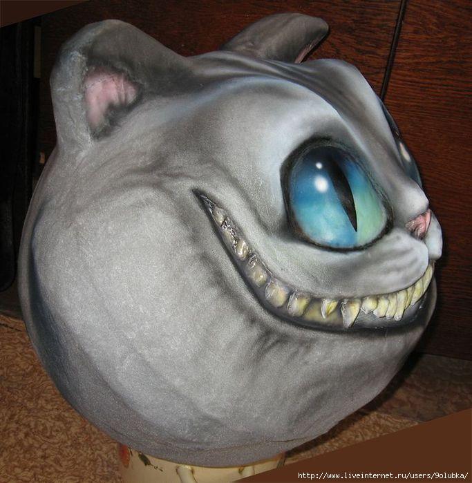 Кот из папье маше как сделать