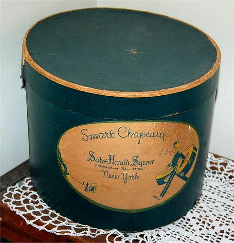 Шляпная коробка своими руками