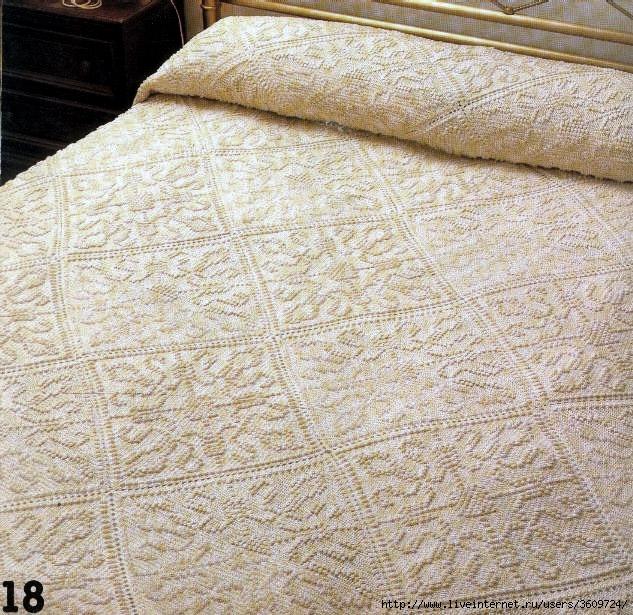 Схемы Вязания Покрывала