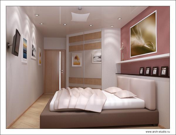 Дизайн спальни 15 метров фото