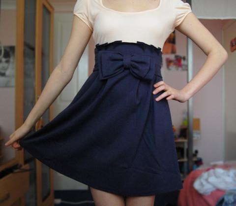 Платье зимнее своими руками