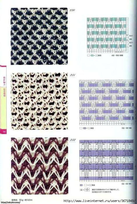 Описание: Схемы и узоры вязания Бесплатные схемы вязания спицами и крючком.Выкройки и схемы вязания: Узоры для.