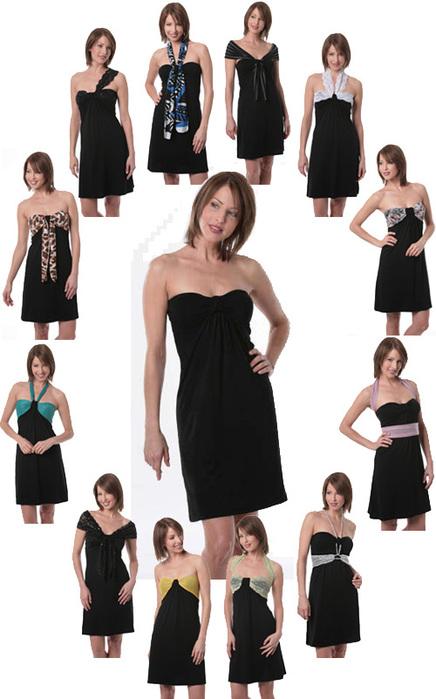 Со времен Шанель маленькое черное платье стало классикой.