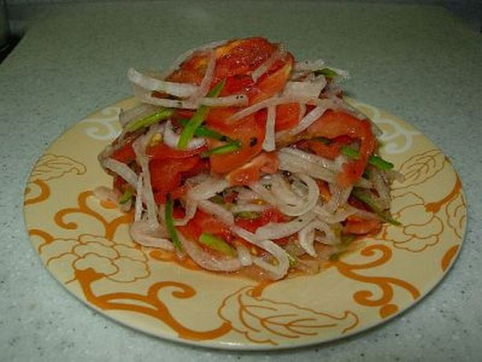 Салат татарский фото рецепт