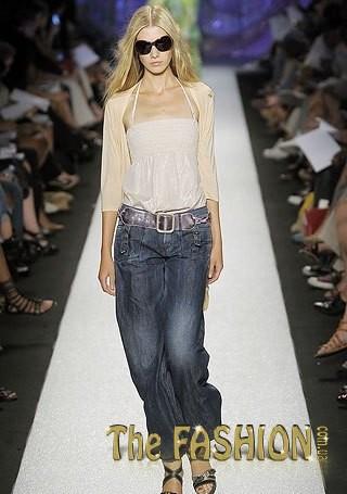 Мода... джинсов. брюки.  Tags.  Модный блог Брюки в галереях: атласные...